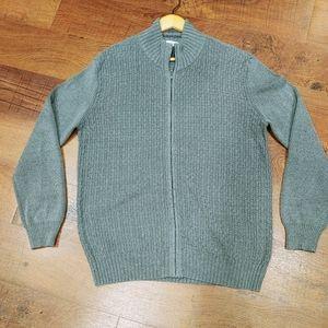 Calvin Klein Mens Full Zip up Sweater
